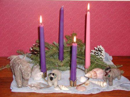 advent scene, week 3