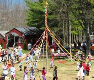 May Day and Maypole Dancing, by Mara Spiropoulos, Sarah Baldwin and Max Alexander