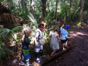 Forest Kindergarten at Seaside Playgarden, Jacksonville, FL by Lynn Coalson