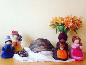 Four Seasonal Nature Ladies by Laura Phillips
