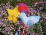 Living Arts Daily: Sewing Flying Bird and Shooting Star Beanbags