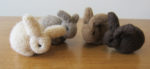 Living Arts Daily: Knitting Bunnies for Springtime!